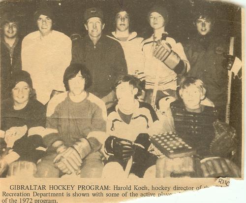 Harold Koch Hockey Photo
